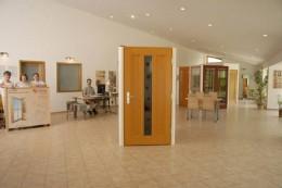 Vzorkovna oken a dveří Slavonice v r.2008