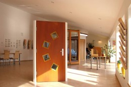 Vzorkovna oken a dveří Slavonice v r.2005