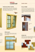 Dřevěná okna - technologie a detaily