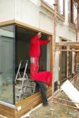 Montáž rohového okna