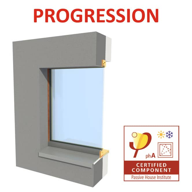 Okno PROGRESSION pro pasivní domy