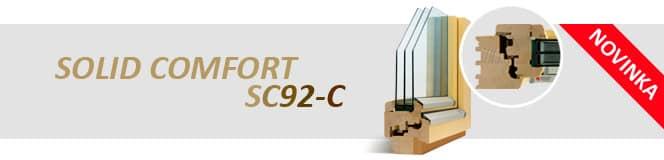 Dřevěná okna SOLID COMFORT SC92-C