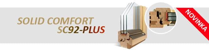Dřevěná okna SOLID COMFORT SC92-PLUS