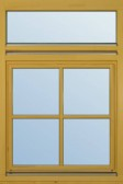 Okno s děleným poutcem
