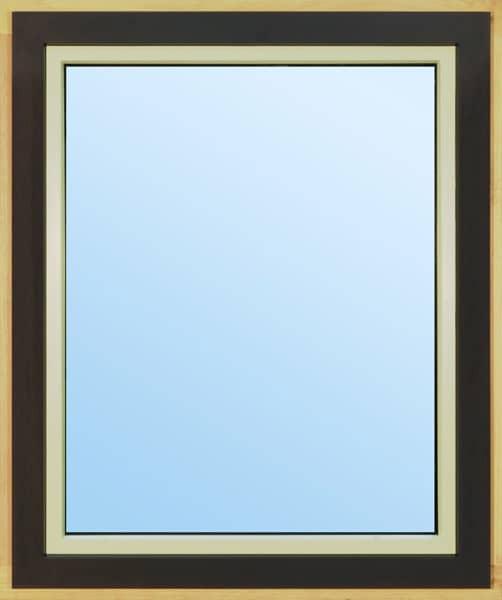 Jednokřídlové dřevohliníkové okno
