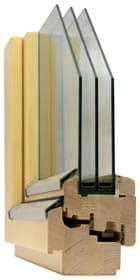 dřevěné eurookno SOLID COMFORT SC92