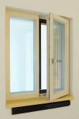 Větrací systém AEROMAT pod oknem PROGRESSION