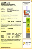 Certifikát PHI