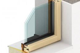 Okno PROGRESSION zevnitř - dřevěné okno