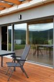 HS PROGRESSION se zabudovaným stíněním s v sestavě s balkonovými dveřmi