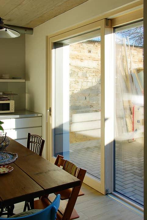 HS portal PROGRESSION - zdvižně posuvné dveře do pasivního domu