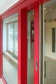 Dřevohliníkový HS portal exterier