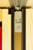 Dřevohliníkový HS portal - utěsnění