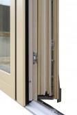 Posuvné dveře PSK - Z, dřevohliníkový profil HA110
