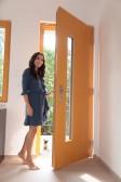 Eva Decastelo má vchodové dveře JESEN