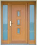 DEKAM - vchodové dveře s bočními světlíky