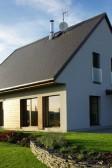 Pasiví dřevostavba s dřevěnými okny