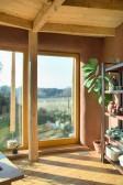 Francouzské okno v pasivním domě