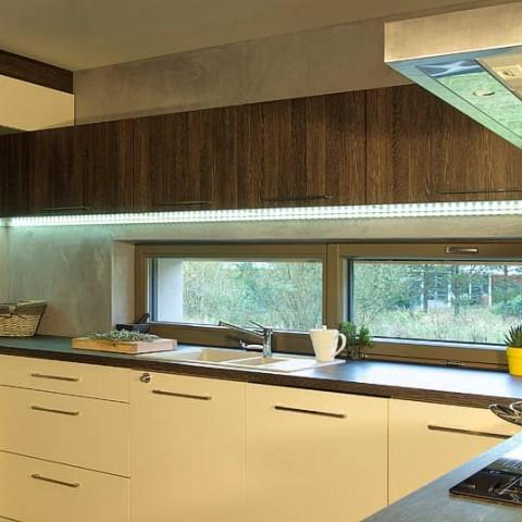 Okno PROGRESSION v kuchyňské lince