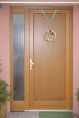 DESK - vchodové dveře s konstrukcí KLASIK