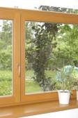 Dvoukřídlé okno s nadsvětlíkem