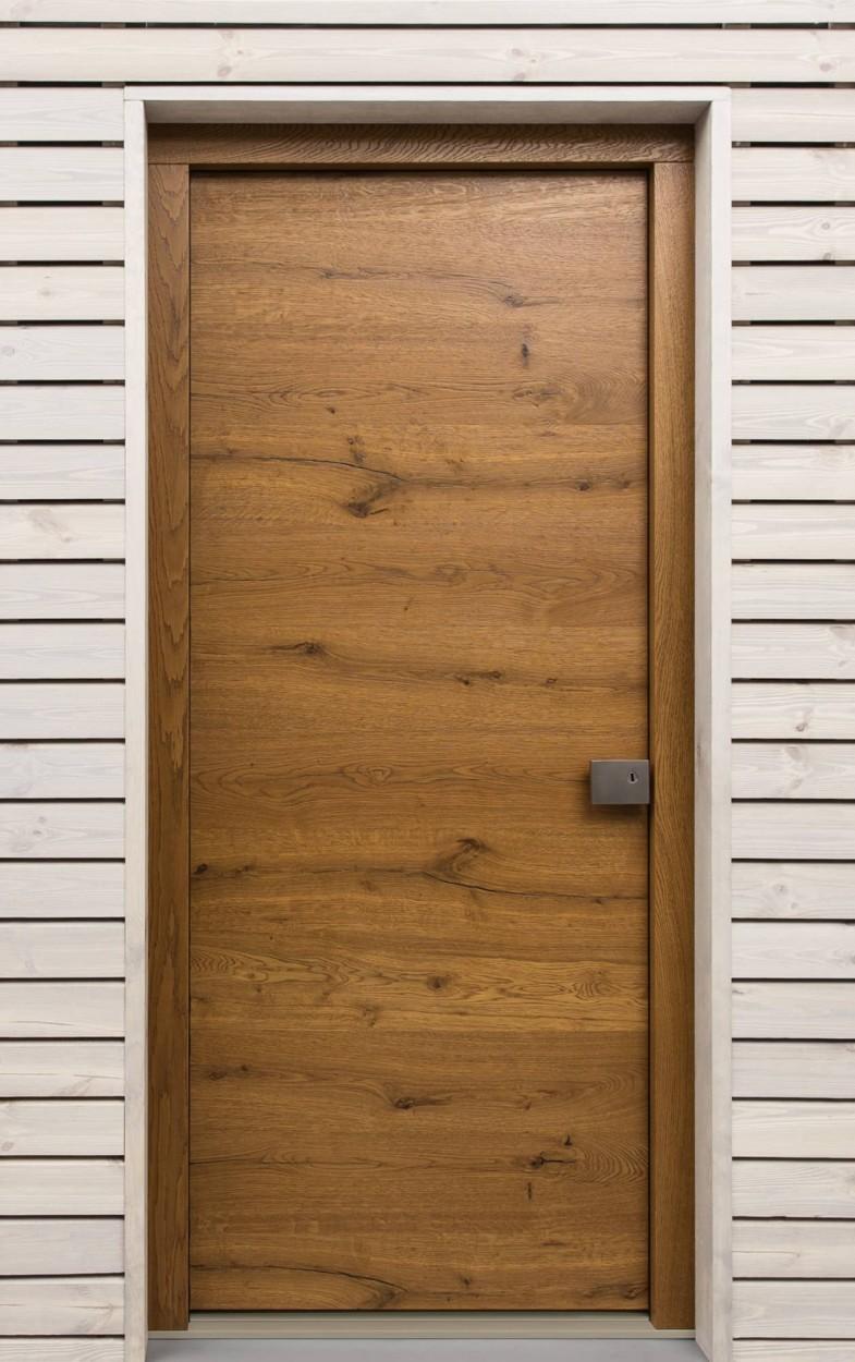 Vchodové dveře dubové INSPIRO