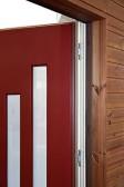 Detail dveří PROGRESSION, 3 těsnění, závěsy BAKA PROTECT 3D