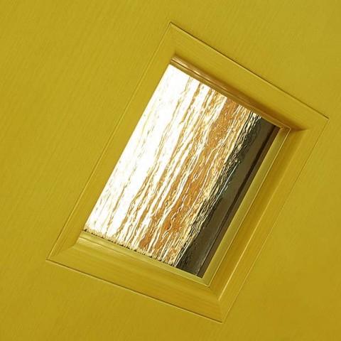 Vnitřní rámeček dveří, zaskleno s lištou