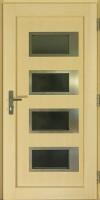 Dřevohliníkové vchodové dveře PROGRESSION - STYLE, zevnitř, vzor NAVY