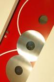 KREMS - dřevohliníkové vchodové dveře konstrukce STYLE