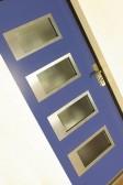 NAVY - dřevohliníkové vchodové dveře konstrukce STYLE