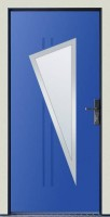 Dřevohliníkové vchodové dveře PROGRESSION - STYLE, BURGOS