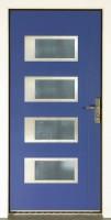 Dřevohliníkové vchodové dveře konstrukce STYLE, vzor NAVY