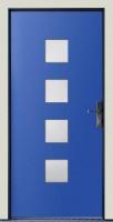 Dřevohliníkové vchodové dveře PROGRESSION - STYLE, var.C