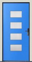 Dřevohliníkové vchodové dveře PROGRESSION - STYLE, var.C5