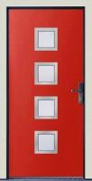 Dřevohliníkové vchodové dveře PROGRESSION - STYLE, var.C2