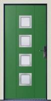 Dřevohliníkové vchodové dveře PROGRESSION - STYLE, var.C3