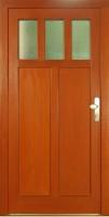 VESTA 2008 - dřevěné vchodové dveře