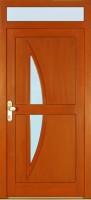 GALAXY - dřevěné vchodové dveře