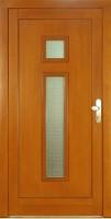 TOWER - dřevěné vchodové dveře