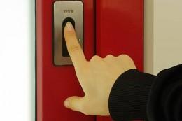 Scanner na otisk prstu