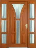 GARNI - dřevěné vchodové dveře