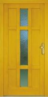 GRAVE - dřevěné vchodové dveře