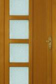 JUNO - dřevěné vchodové dveře