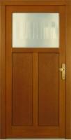 VESTA - dřevěné vchodové dveře