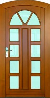 HAMBURG - dřevěné vchodové dveře