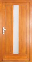 CUYO - dřevěné vchodové dveře