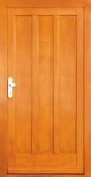 DAMAN - dřevěné vchodové dveře
