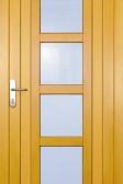 DIAMO - dřevěné vchodové dveře (smrk)