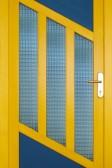 DRAKARY - dřevěné vchodové dveře (smrk)